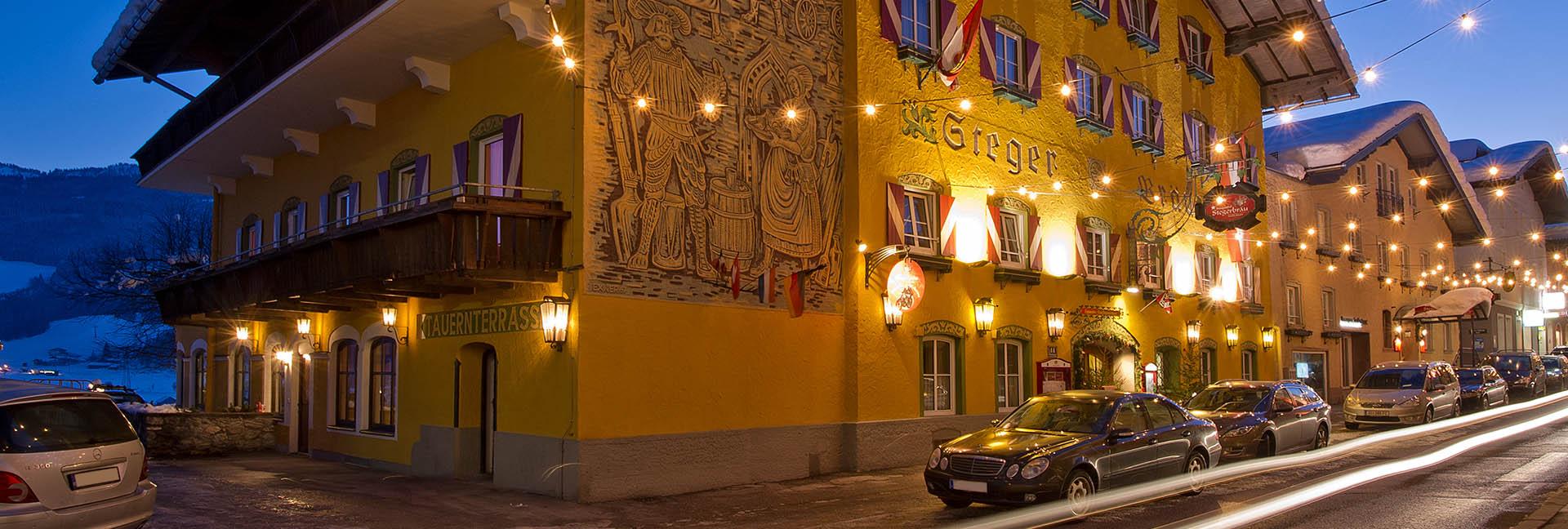 3 Sterne Hotel in Radstadt - Hotel Gasthof Stegerbräu