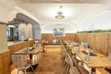 Der Bräusaal im Stegerbräu in Radstadt bietet einen abgegrenzten Raum - die gemütliche Wirtshaus-Stube