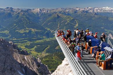 Ausflugsziel Dachstein-Gletscher mit Skywalk