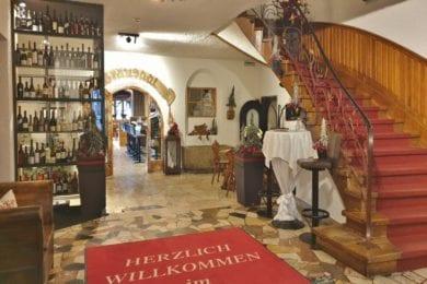 Eingangsbereich im Stegerbräu