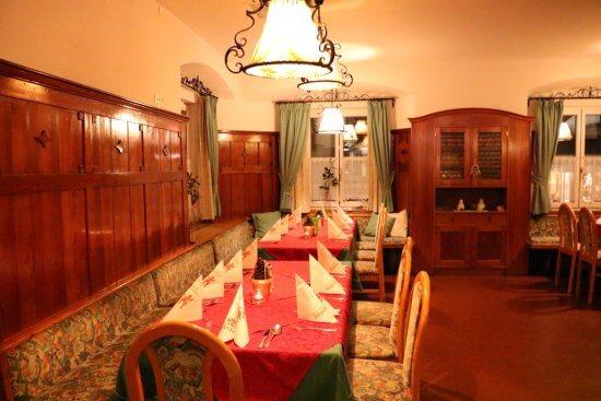 Eines unserer Stüberl als Teil des Panoramarestaurants
