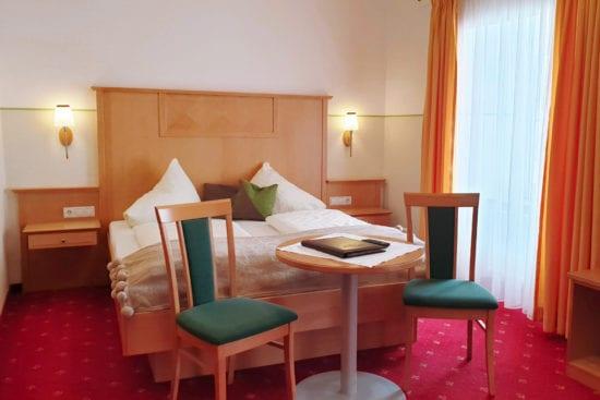 Wohnbeispiel für ein Komfort-Zimmer 2 bis 3 Personen