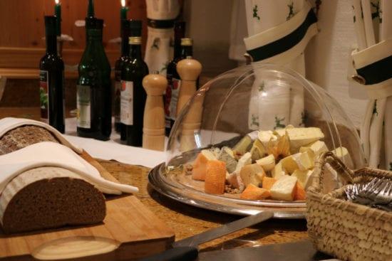 Abendmenü - Käseplatte - im Hotel Stegerbräu Radstadt