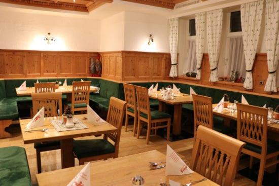 Das Wildstüberl, Teil des Panorama-Restaurants im Hotel Stegerbräu Radstadt