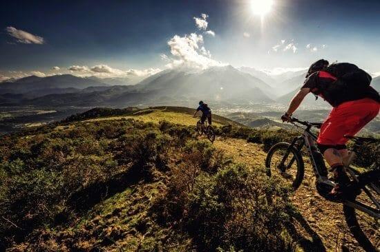 Mit hochwertigen Mountain E-Bikes zu den  schönsten Zielen in und um Radstadt. Radverleih bei Sport TriAlpin und ab Sommer 2008 gibt es auch Mountein eBikes im Hotel Stegerbräu zum Verleih