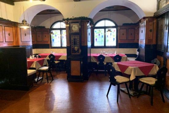 """Das Weinstüberl im Stegerbräu zählt noch zum """"alten Teil"""" des Hauses"""