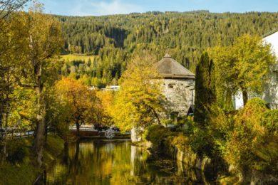 Oktober Urlaub in Österreich - Herbst Impressionen aus Radstadt am Teichturm