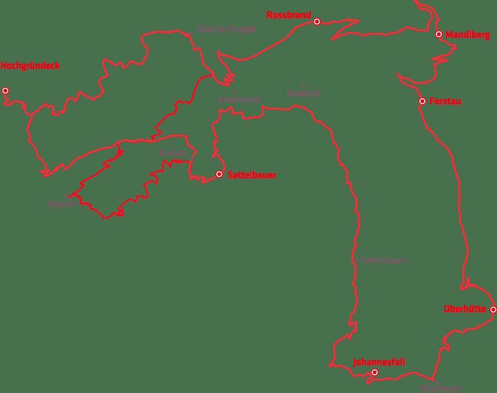Die Stoneman Taurista MTB-Strecke ist ein Rundkurs, der über 123 km und 4500 Höhenmeter zu herrlichen Panoramen führt