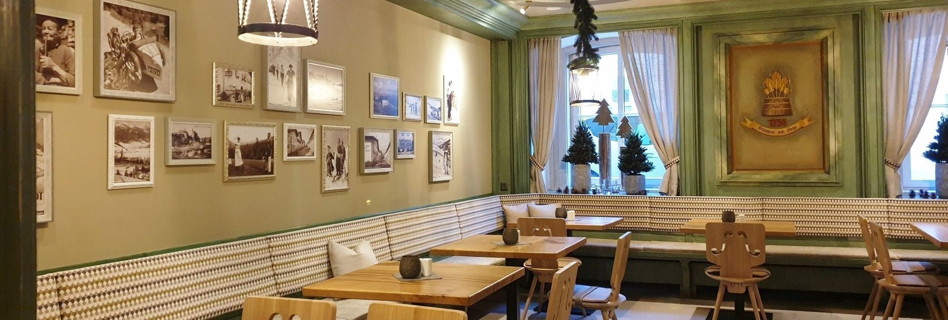 Die Dirndlstube - eine der gemütlichen Stuben der Restaurant-Lokalitäten im Stegerbräu
