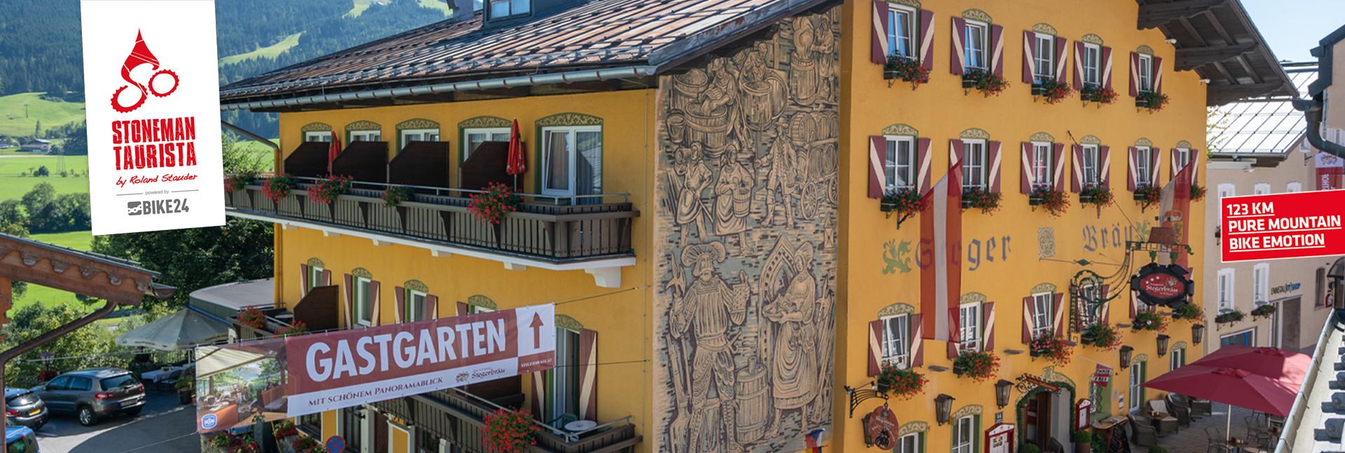 Wohnen Sie für Ihre Stoneman Taurista Challenge im Logis-Partner Hotel Radstadt