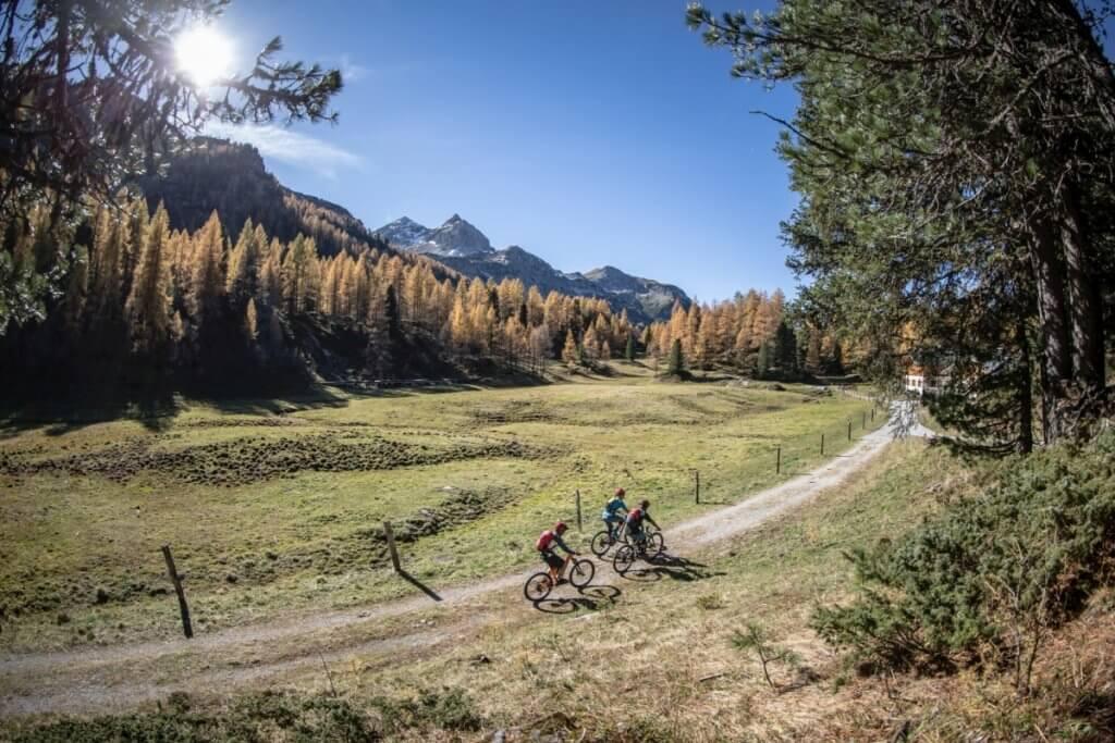 Mit dem Mountainbike durchs Almtal in Forstau