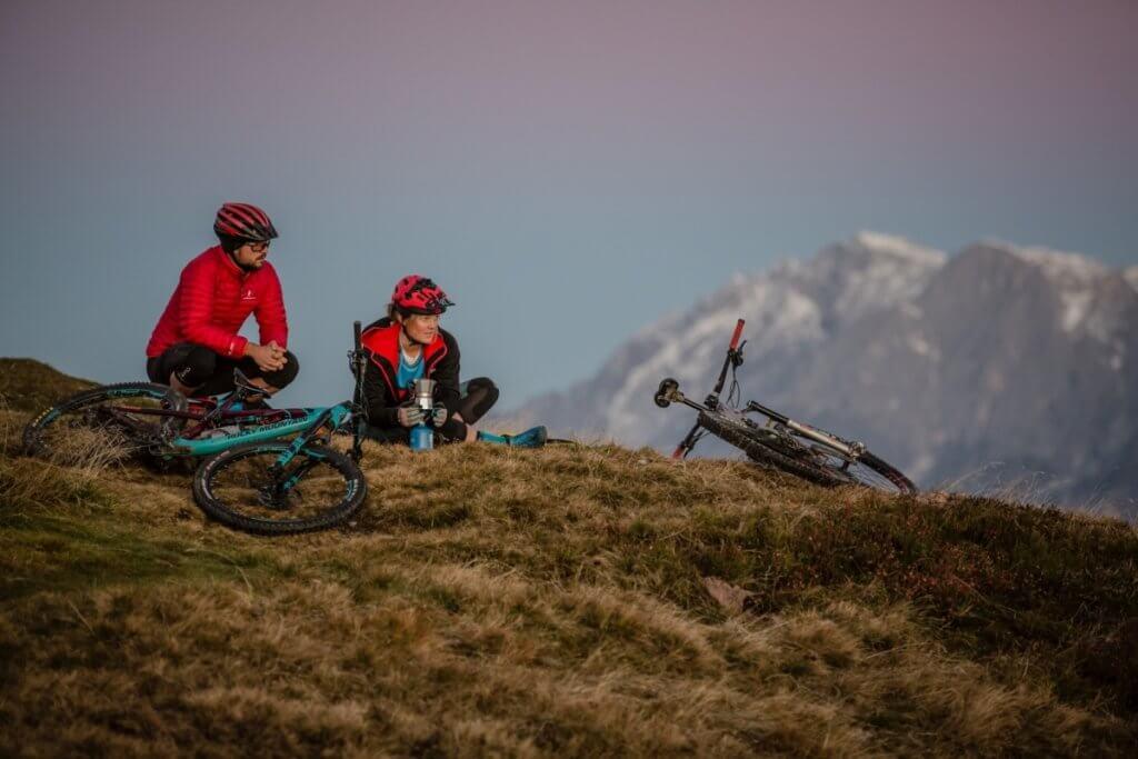 Mountain Gipfelpause - der Rundumblick ein Genuss für das Auge