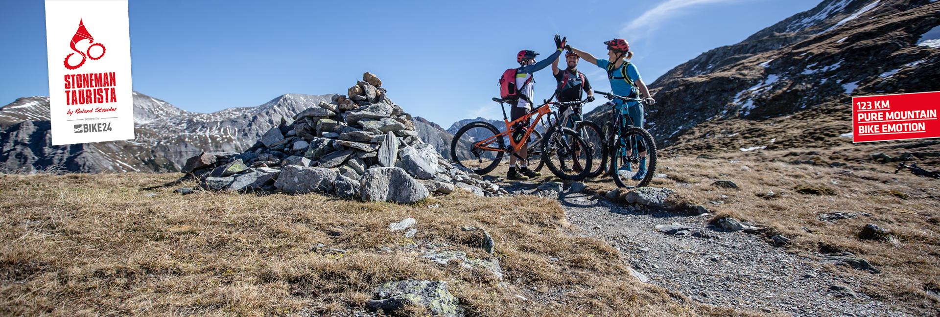 Der Stoneman Taurista von Roland Stauder - 123 km pure Mountainbike Emotion