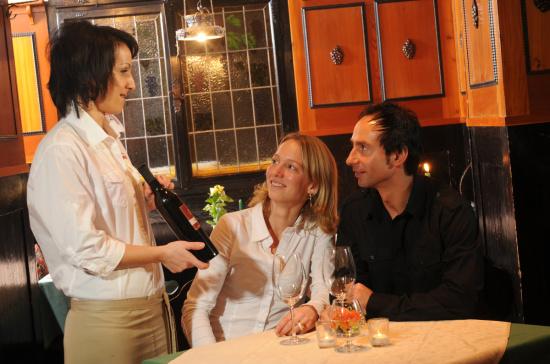 Das Weinstüberl - eines der angeschlossenen Stüberl im Panoramarestaurant