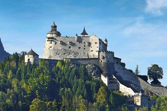 Gasthof Hotel Stegerbräu - Ausflugsziele - Salzburger Land - Burg Hohenwerfen