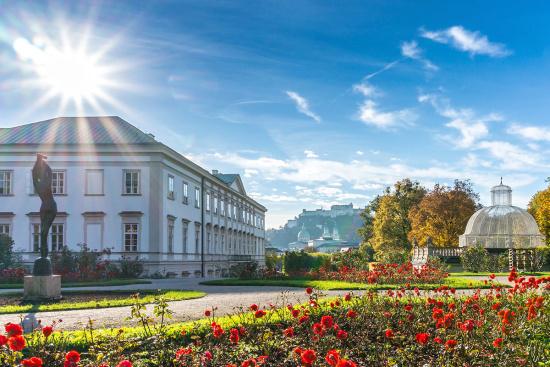 Gasthof Stegerbräu - Ausflugsziele - Salzburger Land - Mirabellgarten, Schloss Mirabell