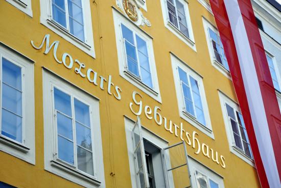 Restaurant Hotel Stegerbräu - Ausflugsziele - Salzburger Land - Mozarts Geburtshaus