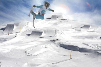 Betterpark in St. Johann - Alpendorf, Ski amadé