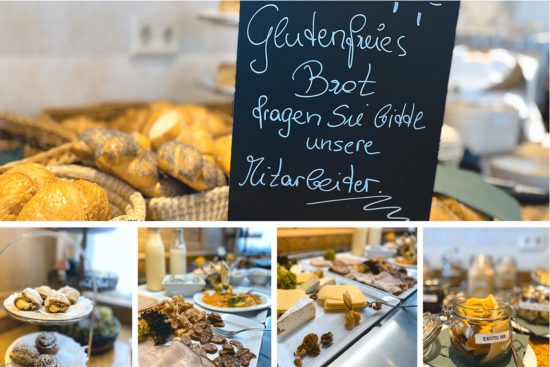 Das Stegerbräu Frühstück in Radstadt bietet eine reiche Auswahl vom Buffet