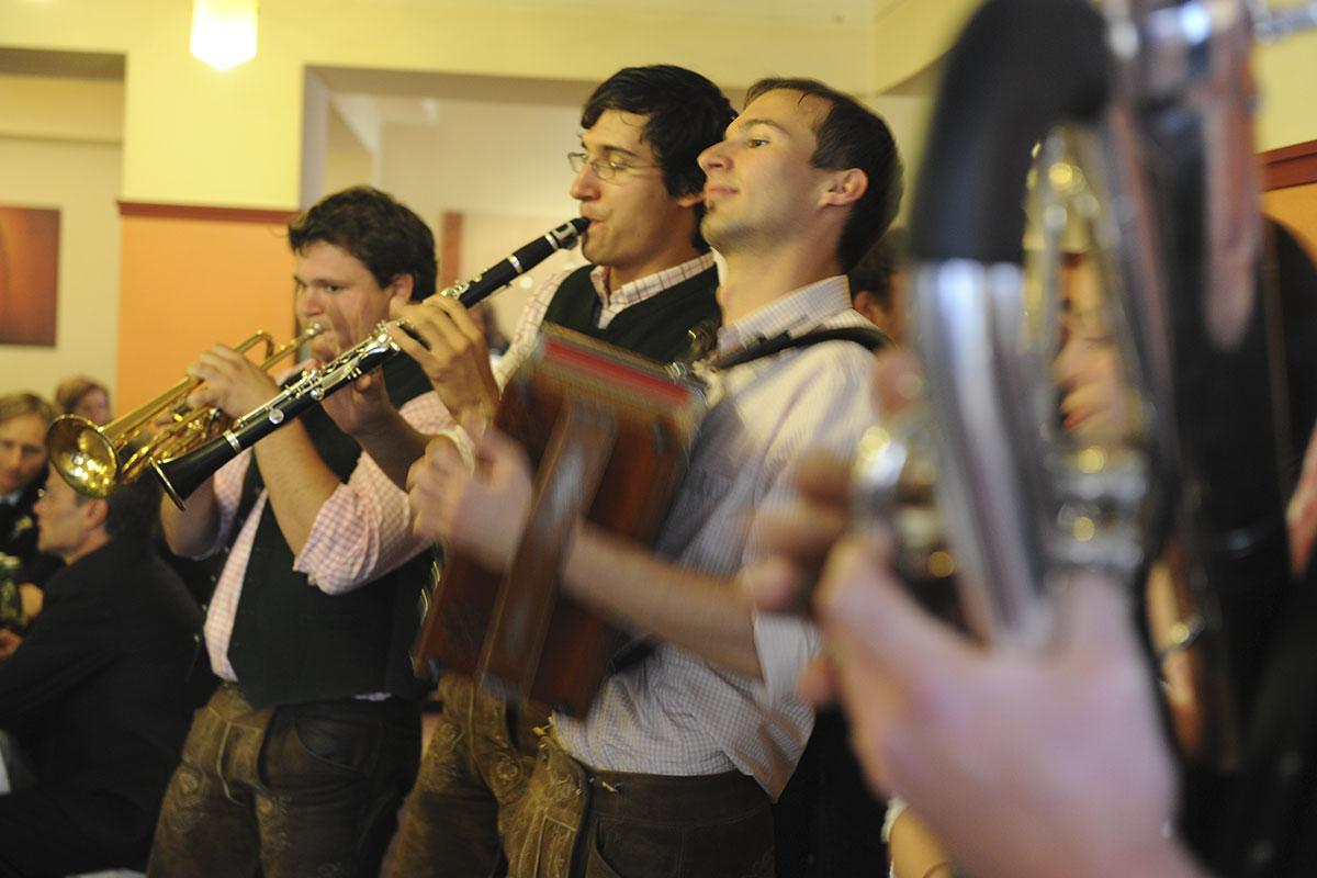 Hochzeit im Stegerbräu mit Musik