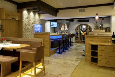 Neue Hotelbar im Gasthof Stegerbräu, Ihr Restaurant in Radstadt