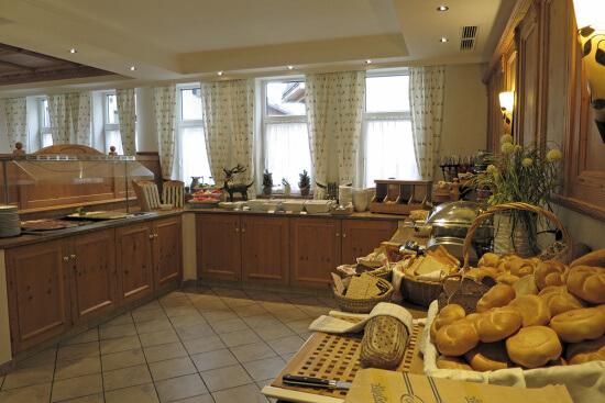 Frühstück in Buffetform im Hotel Stegerbräu Radstadt