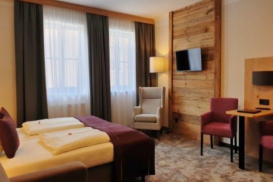 Dreibettzimmer Typ Bräu-Komfort im Hotel Stegerbräu, Radstadt