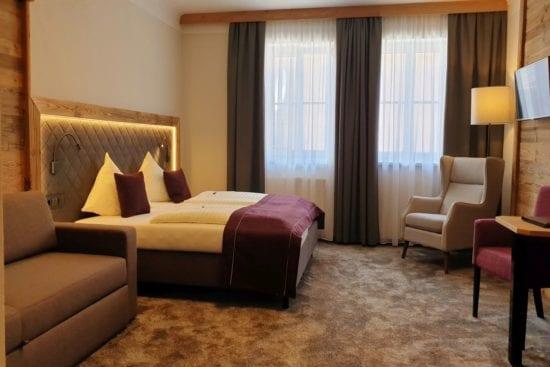 Vierbettzimmer in der Bräu-Komfortkategorie für 2-4 Gäste