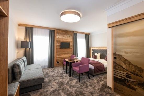 Zusätzlich zur Classic-Kategorie, bietet der Stegerbräu in der Komfort-Kategorie einen 3-Sterne plus Wohngenuss