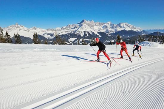 Langlaufen in Radstadt, Salzburger Land
