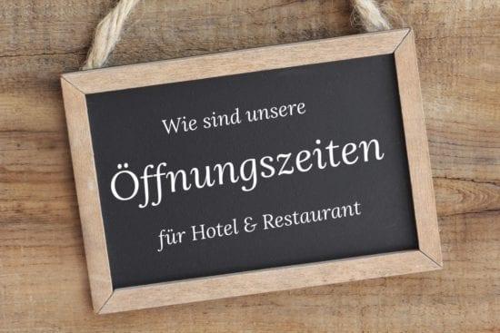Informationen zu Öffnungszeiten im Hotel - und Restaurant Stegerbräu, Radstadt