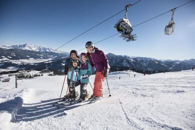 Skifahren in Flachau, Ski amadé, Salzburger Land