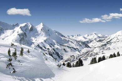 Skifahren in Obertauern, Salzburger Land