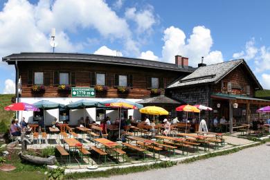 Wanderungen Radstadt - Radstädter Hütte, Rossbrand