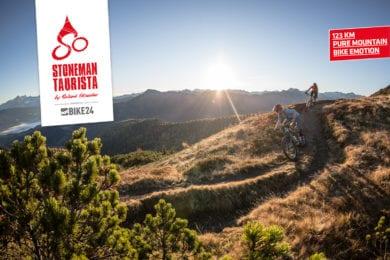 Auf dem Stoneman Taurista Rundkurs erleben Sie pure Mountainbike Emotion, und herrliche Bergpanoramen