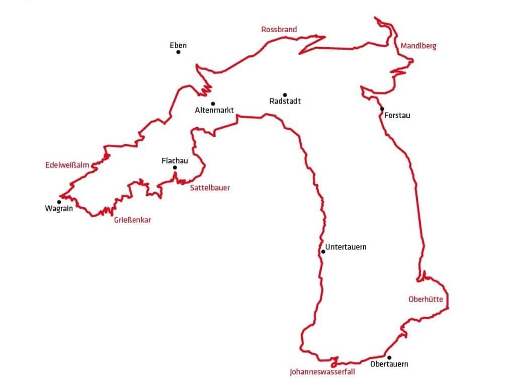 Die Stoneman Taurista Strecke ist ein Rundkurs der über 123 km und 4.500 Höhenmeter