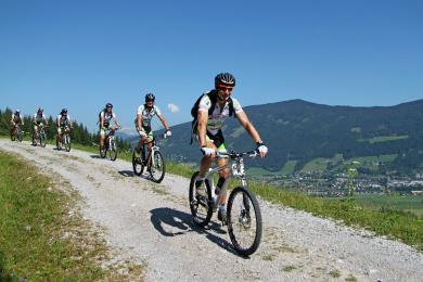 Radfahren & Mountainbiken - geführte Touren mit TauernBike Tours