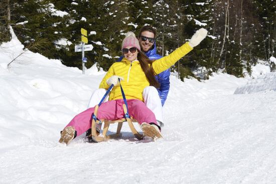 Winterurlaub in Radstadt - Rodeln